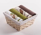 Basket with towels Duck - Bird