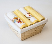 Basket with towels Duck - Chicken