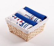 Basket with towels Maják - Plachetnice