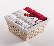 Basket with towels Chicken - Rooster