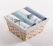 Basket with towels Dragon Flies - Pike