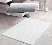 Bath mat Adria white