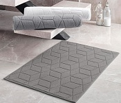 Bahroom Mat Adria Metal Grey