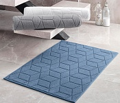 Bath mat Adria blue