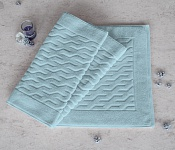 Bath mat COMFORT blue/grey