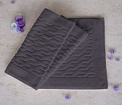 Bath mat COMFORT dark purple