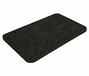 Bath mat SOFT black