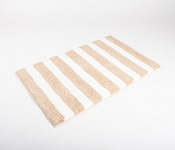 Bath mat SOFT Stripes beige