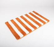 Bath mat SOFT Stripes orange