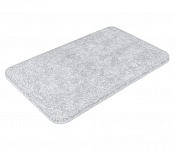 Bath mat SOFT light grey