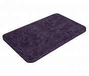 Bath mat SOFT dark violet