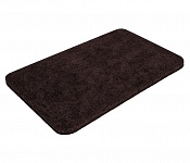 Bath mat SOFT dark brown