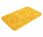 Bath mat SOFT yellow-orange