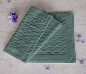 Bath mat Bath Mat Dark Green
