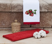 Kitchen towels Strawberries