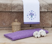 Kitchen towels Lavender