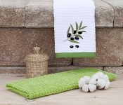 Kitchen towels Olive