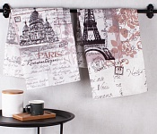 Kitchen towels Paris Monuments