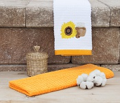 Kitchen towels Sunflower