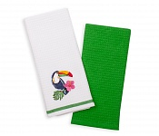 Kitchen towels Tucan