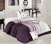 Bedding Modern Art Lila