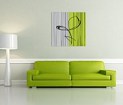 Canvas Print Eternity Green