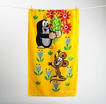 Towel Little Mole with Flowers
