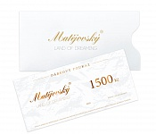 Gift Voucher for 1500 CZK