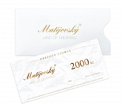Gift Voucher for 2000 CZK