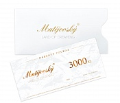 Gift Voucher for 3000 CZK