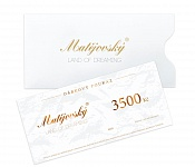 Gift Voucher for 3500 CZK