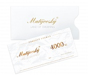 Gift Voucher for 4000 CZK