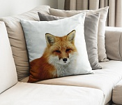 Decorative Pillowcase Fox