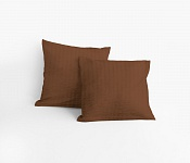 Pillowcase Brown Crepe