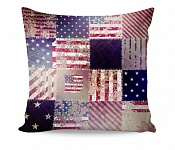 Pillowcase Retro USA