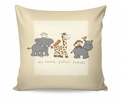 Pillowcase Safari Friends
