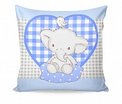 Pillowcase Elphy Blue