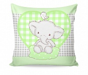 Pillowcase Elphy Green
