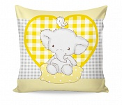 Pillowcase Elphy Yellow