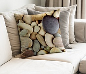 Decorative Pillowcase Stones