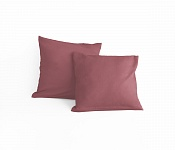Pillowcase Light bordo