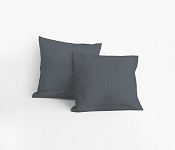 Pillowcase Dark Grey Crepe