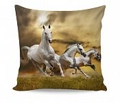 Pillowcase White Horse