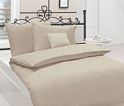 Bedding Cotton Satin Latte Brown