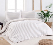 Bedding Stripes Beige