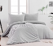Bedding Stripes Grey