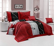 Bedspread Eternity Red