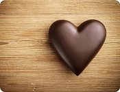Placemat Chocolate Heart
