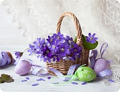 Placemat Easter Basket