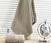 Towel Omega light brown